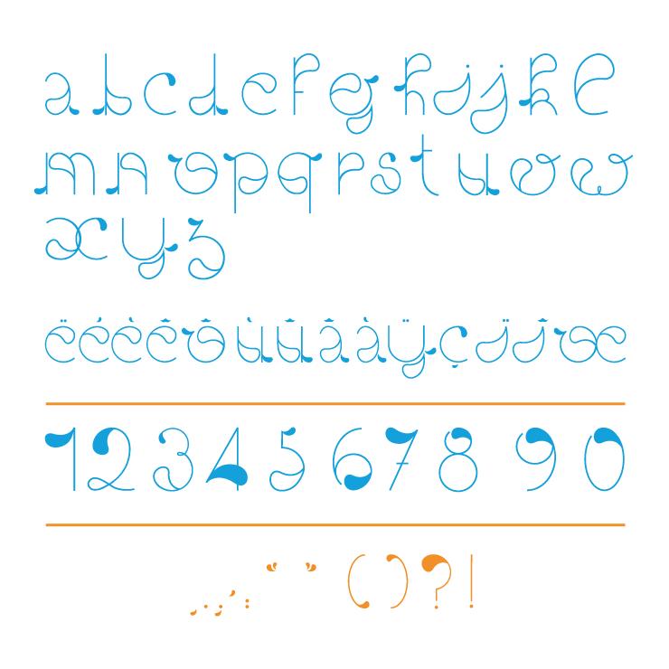 TypoGoutte-alphabet